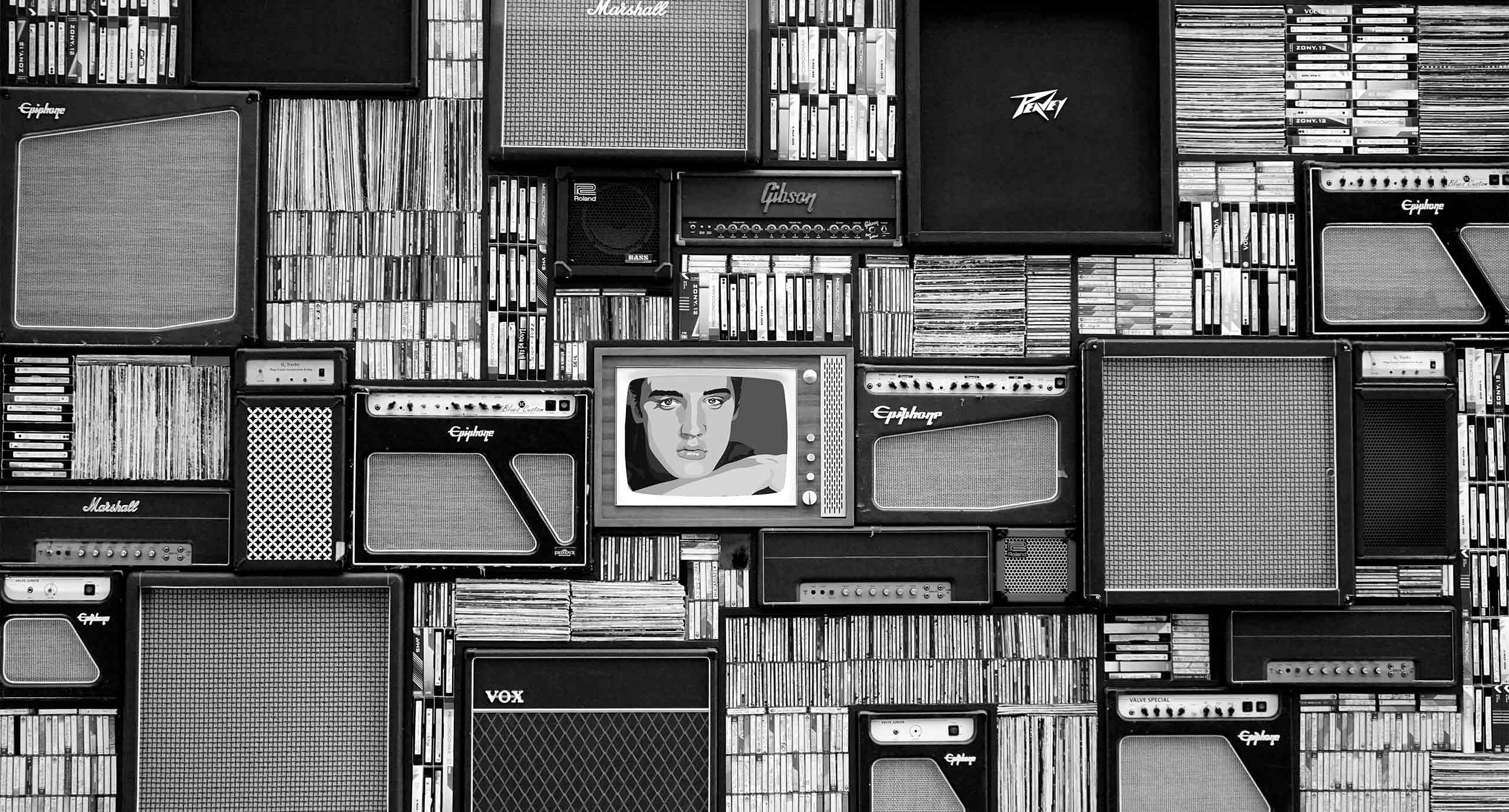 TV and records
