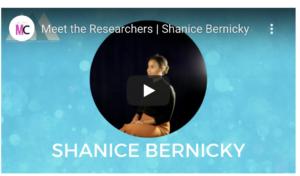 Shanice Bernicky, Graduate Student Researcher