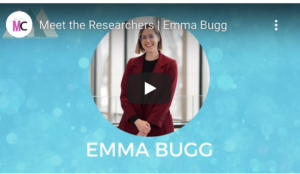 Emma Bugg, Researcher in Residence