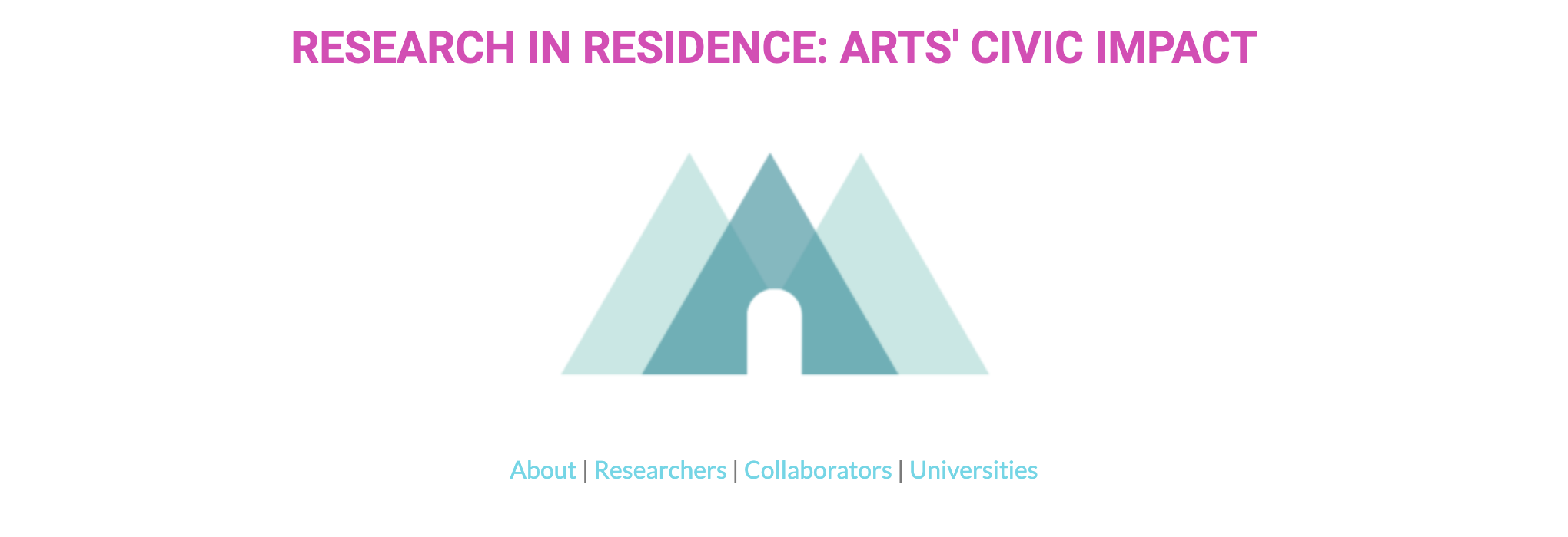 Research in Residence: Arts' Civic